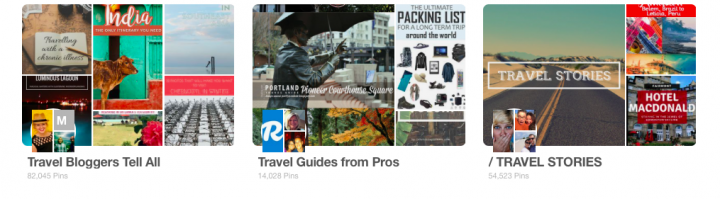 Best Pinterest Group Boards for Travel Bloggers