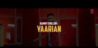 YAARIYAN LYRICS – Rammy Dhillon