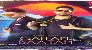 GALLAN BAATAN LYRICS – Monty | Waris