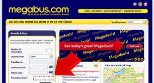 Coupon for Megabus