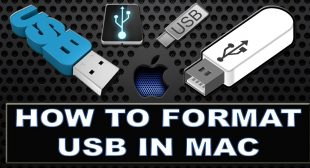 How to Format USB Drive Using Mac