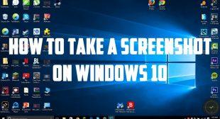 How to Take Screenshot in Windows 10?