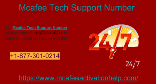 Active your Mcafee Antivirus Smoothly connect with +18773010214