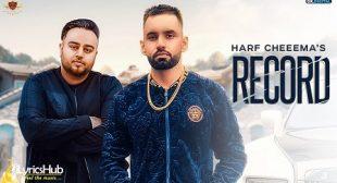 RECORD LYRICS – HARF CHEEMA, DEEP JANDU | iLyricsHub