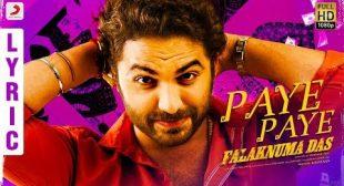 Paaye Paaye Lyrics – Falaknuma Das | Checklyrics.com