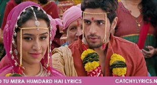 Jo Tu Mera Humdard Hai Lyrics – Ek Villain – Catchy Lyrics