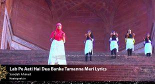 Lab Pe Aati Hai Dua Banke Tamanna Meri Lyrics : Naat-e-Paak – Bulbul-e-Bagh-e-Madina