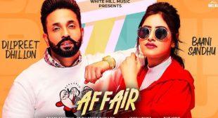 Affair by Baani Sandhu – LyricsBELL