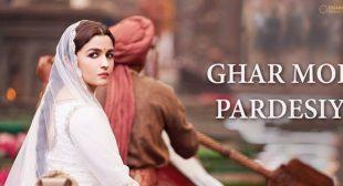 Ghar More Pardesiya Lyrics – Kalank