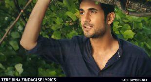 Tere Bina Zindagi Se Lyrics – SANAM – Catchy Lyrics