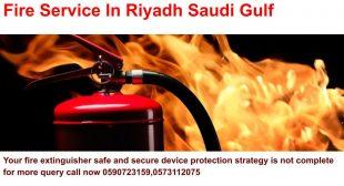 Fire Extinguisher Safe And Secure Device Gulf Saudi Arabia