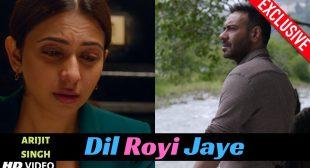 Dil Royi Jaye Lyrics – (De De Pyaar De) Arijit Singh