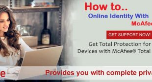 How To Protect Your Online Identity With McAfee Activate?