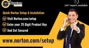 Norton.com/setup – Enter your Product Key – www.norton.com/setup