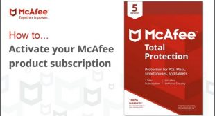 Mcafee.com/Activate | Download, Install & Activate Mcafee