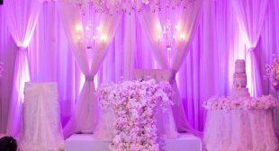 Dynamic Themed wedding decoration