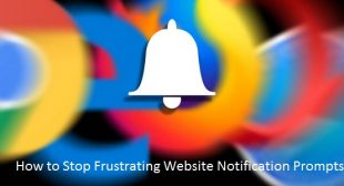 How to Stop Frustrating Website Notification Prompts