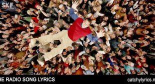 RADIO Lyrics – TubeLight Song – Salman Khan – Amit & Kamal – Catchy Lyrics