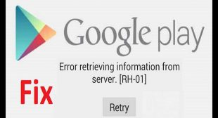 How to fix retrieving information from the server in Google Play