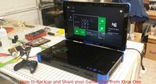 How to Backup and Share your Game Clips from Xbox One