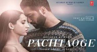 Arijit Singh's New Song Pachtaoge