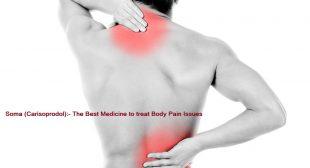 Soma Pills Medicine Used to Treat Severe Pain