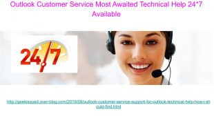 IT Support – Outlook Support for Outlook Helpline Number