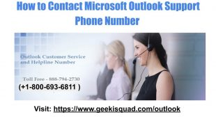 How to Change Password in Outlook – Outlook Toll Free Number