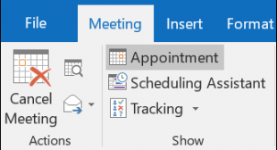 How to Access and Cancel your Meetings in Outlook