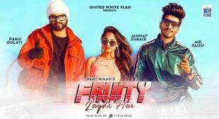 Fruity Lagdi Hai Lyrics by Ramji Gulati