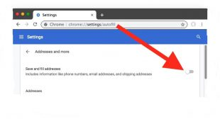 How to Turn Off Form Autofill in Google Chrome?
