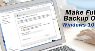 How to Create a Full Backup of the Windows 10 PC?