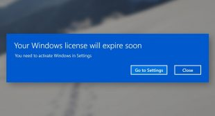 "How to Fix ""Your Windows License will Expire Soon Error"" on Windows 10?"