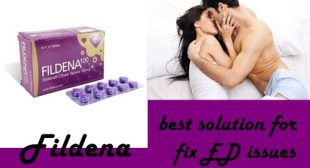 Fildena the best solution for fix ED issues