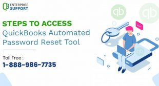 Steps to utilize QuickBooks Automated Password Reset Tool