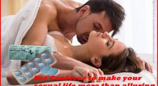 Take Cenforce Pills to make your sexual life more than captivating
