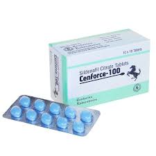 Cenforce 100 – Sildenafil Citrate 100mg