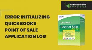 Error initializing QuickBooks Point of Sale  Application Log