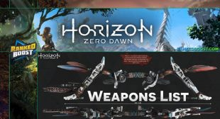 Horizon Zero Dawn: Bow Types and its Purpose – Blog Search
