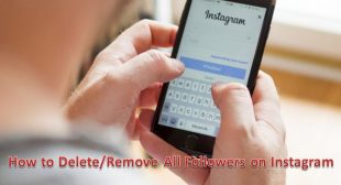How to Delete/Remove All Followers on Instagram