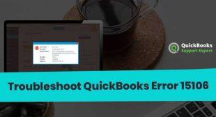 QuickBooks Error 15106