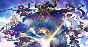 How to Complete Saber Wars Rerun Event in Fate/Grand Order