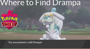 How to Find Drampa in Pokémon Sword and Shield