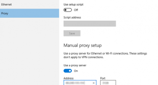 How to Setup a Proxy Server in Windows 10