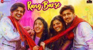 RANG BARSE LYRICS – Bhavin | Samiksha | Vishal – TikToke Superstar