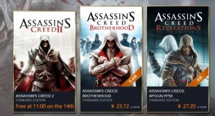 Assassin's Creed 2 will be Free on PC This Week