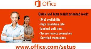 Office.com/setup – Get Microsoft Office Setup Product Key