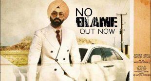 No Blame lyrics- Tarsem Jassar