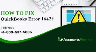 How to Fix QuickBooks Error 1642?   +1-800-537-5805