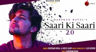 Lyrics of Saari Ki Saari 2.0 Song